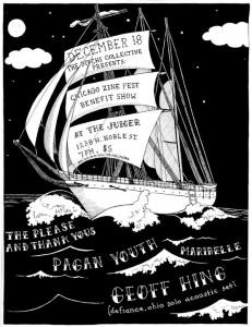 December 18, 2010 Geoff solo show flyer
